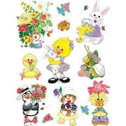 Eureka® Window Cling, Suzy's Zoo Spring