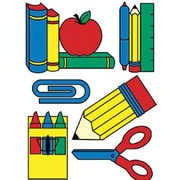 Eureka® Window Cling, School Tools