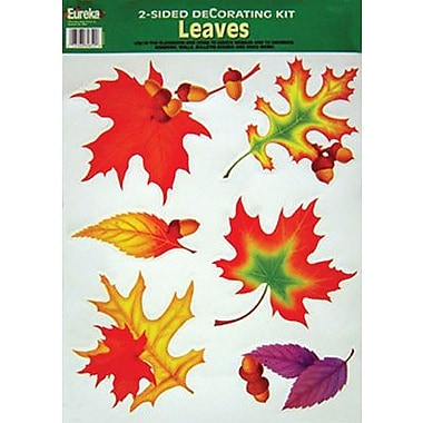 Eureka® Two-Sided Deco Kit, Leaves