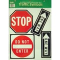 Eureka® Two-Sided Symbols Deco Kit, Traffic Symbols