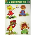 Eureka® Suzy's Zoo Characters Two-Sided Decoration Set