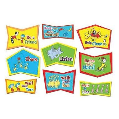 Eureka® Bulletin Board Set, Dr. Seuss Classroom Rules
