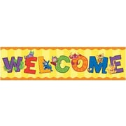 Eureka® Alphabites™ Toddler - 6th Grades Colorful Classroom Banner, Alphabites - Welcome
