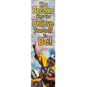 Eureka® 4th - 8th Grades Jambo Banner, You Become What You Believe