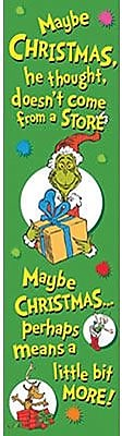 Eureka Dr. Seuss Toddler - 12th Grades Vertical Banner, The Grinch
