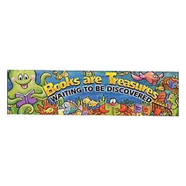 Eureka® Pre School - 6th Grades Banner, Books Are Treasures