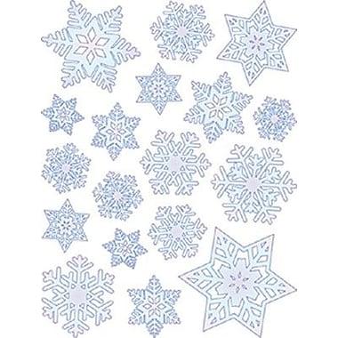Eureka® Window Cling, Snowflakes