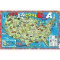 Gallopade® Our Big Cool USA Poster Map, Grades All