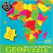 Geotoys™ Africa Geopuzzle