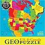 Geotoys™ USA & Canada Geopuzzle, Grades Preschool -