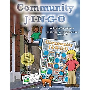 Gary Grimm & Associates® Community Jingo Game, Grades 5th - 12th