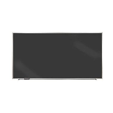 Ghent® Duroslate Chalkboard With Aluminium Frame, Black, 18in. x 24in.