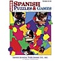Hayes® Spanish Puzzles & Games Book, Grades 6th