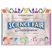 "Hayes® Science Fair Participation Certificate, 8.5""(L) x 11""(W)"
