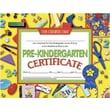 Hayes® Pre-kindergarten Certificate, 8.5in.(L) x 11in.(W)