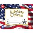 Hayes® All-Star Citizen Reward Certificate and Seals, 8.5in.(L) x 11in.(W)