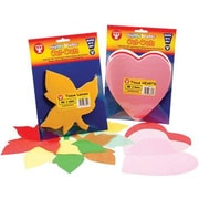 "Hygloss® 6"" Tissue Shape, Hearts"
