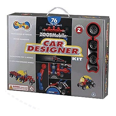 Infinitoy® ZOOB® Mobile Car Designer Kit
