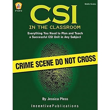 Incentive Publication® CSI In The Classroom Book