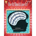 Incentive Publication Use It! Don't Lose It! Daily Language Skills Practice Book, Grades 5th
