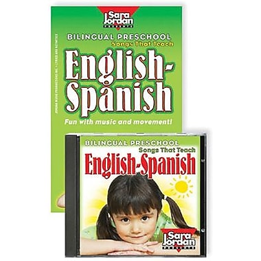 Sara Jordan Publishing™ Bilingual preschool CD/Book Kit, Grades preschool