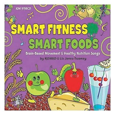 Kimbo Educational® Smart Moves Smart Food CD