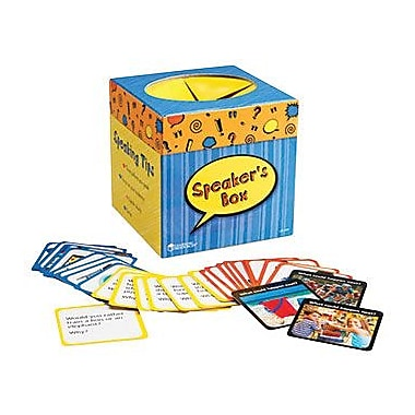 Learning Resources® Speaker's Box Activity