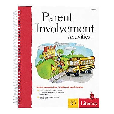 Learning Resources® Parent Involvement Literacy Book, Grades Kindergarten - 3rd