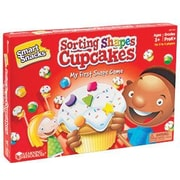 Learning Resources® Smart Snacks® Sorting Shapes Cupcakes™ Game, Grades Pre Kindergarten+