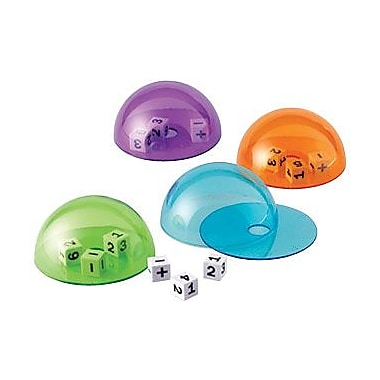 Learning Resources® Dice Domes, 4/Set