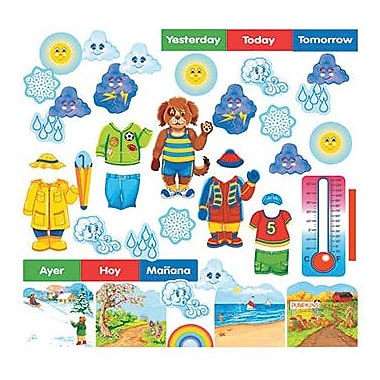 Little Folk Visuals® Flannelboard Set, Wally The Weather Dog