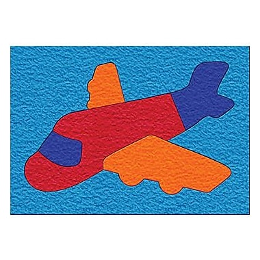 Lauri® Toys Lauri® Crepe Rubber Puzzle, Airplane, Grades Toddler - 1st