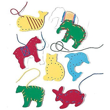 Lauri® Toys Lacing and Tracing Animals