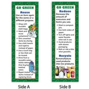 McDonald Publishing® Go Green Bookmark