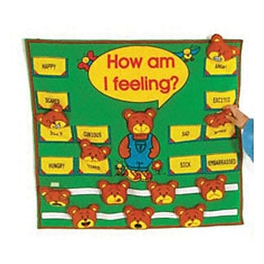 Get Ready Kids® How Am I Feeling Fabric Chart