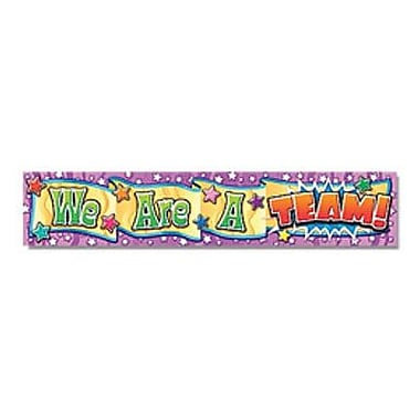 North Star Teacher Resources® Kindergarten - 8th Grades Banner, We Are A Team