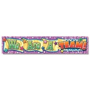 "North Star Teacher Resources NST1204 69"" x 13"" Straight We Are A Team Banner, Multicolor"