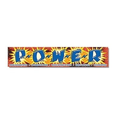 North Star Teacher Resources® Kindergarten - 8th Grades Banner, Power
