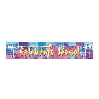 North Star Teacher Resources® Infant - 12th Grades Banner, Celebrate Jesus
