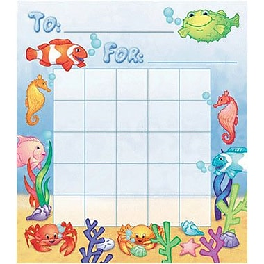 North Star Teacher Resources® Mini Incentive Chart, Under The Sea