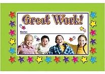 North Star Teacher Resources® Punch Card, Great Work