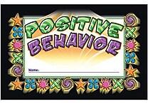 North Star Teacher Resources® Punch Card, Positive Behavior