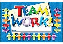 North Star Teacher Resources® Punch Card, Teamwork