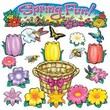North Star Teacher Resources® Bulletin Board Set, Spring Fun