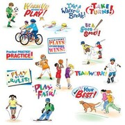 North Star Teacher Resources® Bulletin Board Set, Physical Fitness