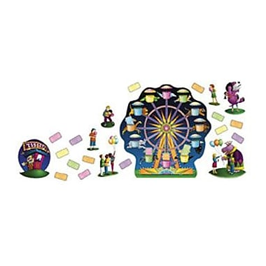 North Star Teacher Resources® Bulletin Board Set, Amusement Park Ferris Wheel