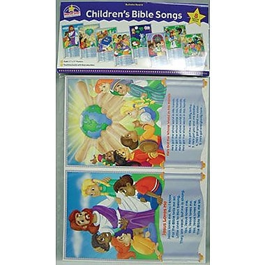 North Star Teacher Resources® Bulletin Board Set, Children's Bible Songs
