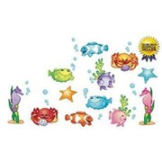 North Star Teacher Resources® Toddler - 6th Grades Bulletin Board Accents, Under The Sea