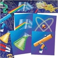 North Star Teacher Resources® pre-school - 8th Grades Straight Bulletin Board Trim, Science
