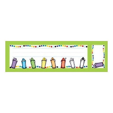 North Star Teacher Resources® Seat and Cubby Sign, Crayons